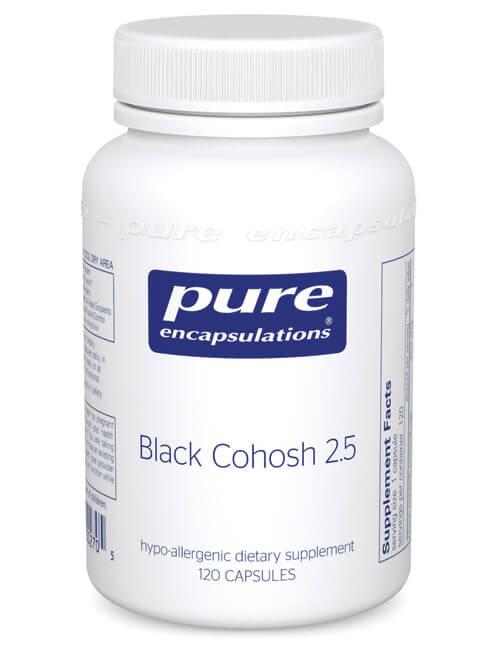 Black Cohosh 2.5 by Pure Encapsulations