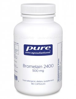 Bromelain 2400 by Pure Encapsulations