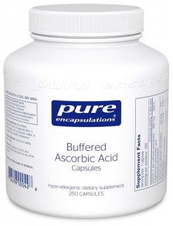 Buffered Ascorbic Acid capsules by Pure Encapsulations
