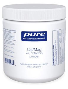Cal/Mag w/Cofactors (powder) by Pure Encapsulations