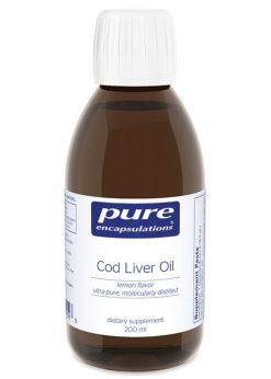 Cod Liver Oil (lemon flavor) by Pure Encapsulations