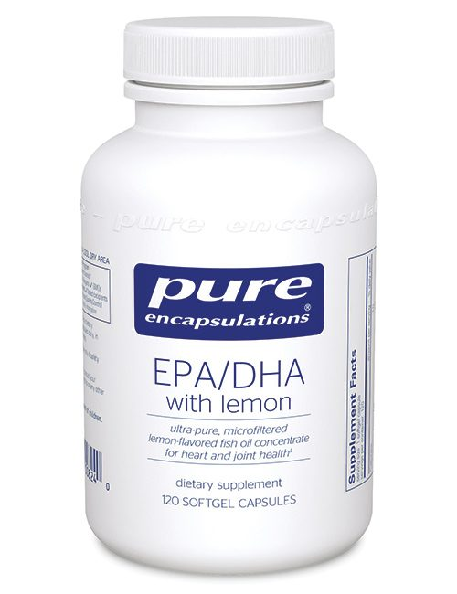 EPA/DHA with lemon by Pure Encapsulations