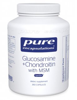 Glucosamine + Chondroitin with MSM by Pure Encapsulations