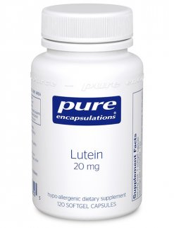 Lutein 20 mg. by Pure Encapsulations