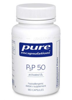 P5P 50 (activated B6) by Pure Encapsulations
