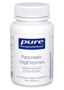 Pancreatic VegEnzymes by Pure Encapsulations