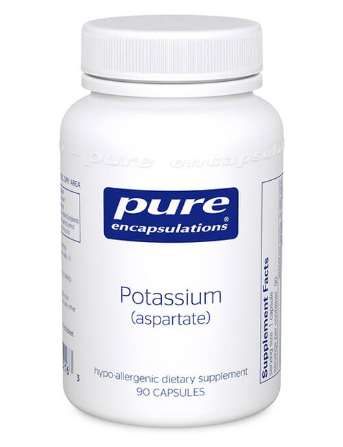 Potassium (aspartate) by Pure Encapsulations