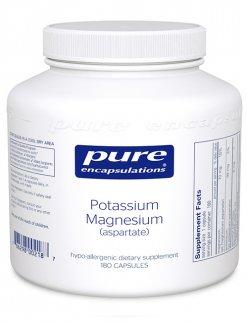Potassium Magnesium (aspartate) by Pure Encapsulations