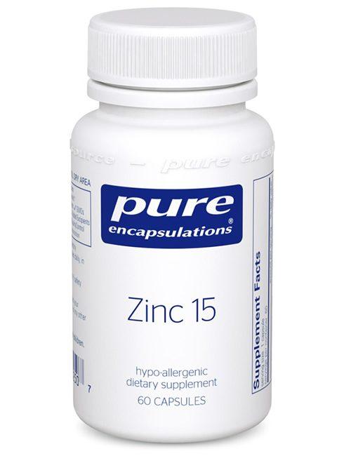 Zinc 15 by Pure Encapsulations