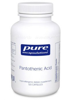 Pantothenic Acid by Pure Encapsulations