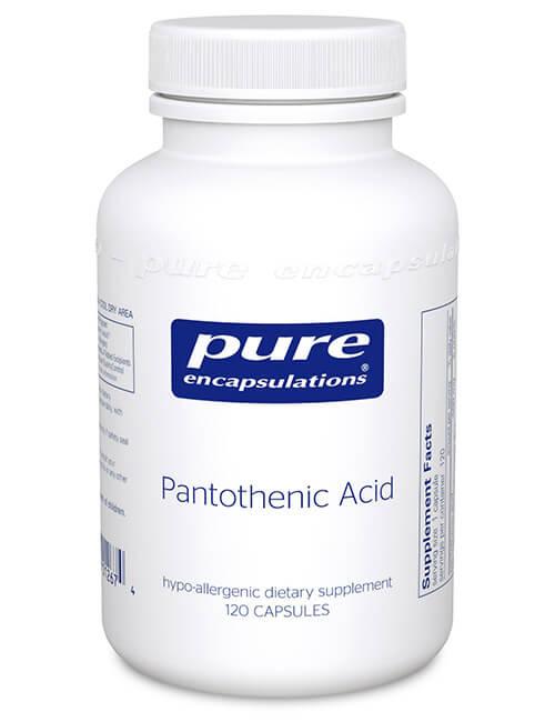 Pantothenic Acid by Pure Encapsulations