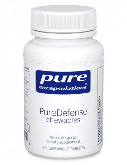 PureDefense chewables by Pure Encapsulations