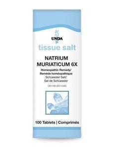 Natrium Muriaticum 6X by Unda