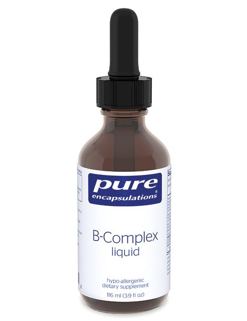 B-Complex liquid--***Now with no dropper by Pure Encapsulations