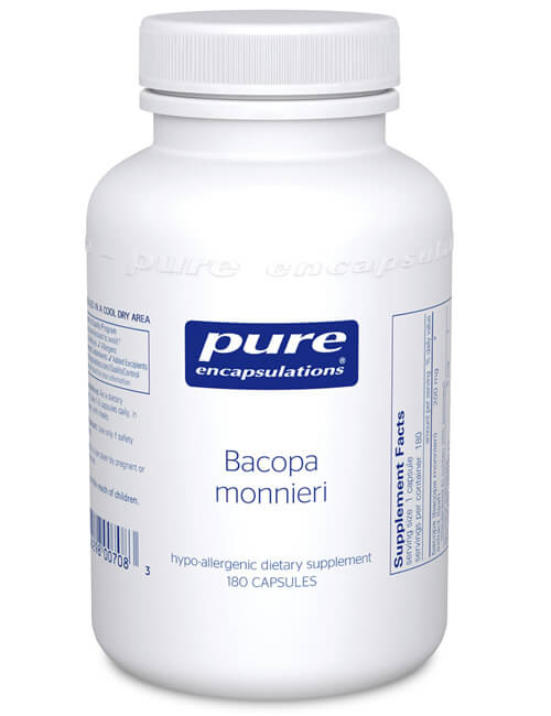 Bacopa monnieri by Pure Encapsulations