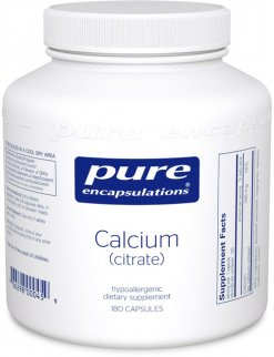 Calcium (citrate) by Pure Encapsulations