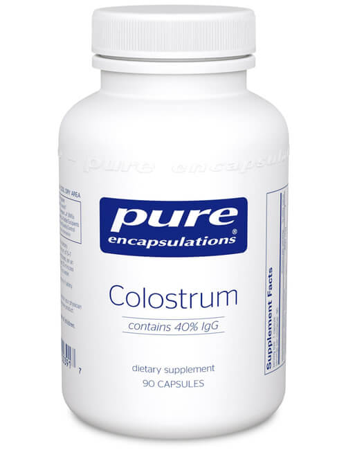 Colostrum 40% lgG by Pure Encapsulations