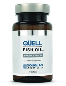 QUELL FISH OIL EPA/DHA PLUS D by Douglas Laboratories
