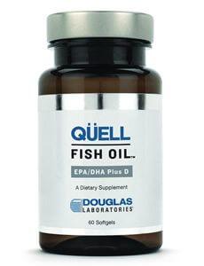 QUELL FISH OIL EPA/DHA PLUS D by Douglas Laboratories