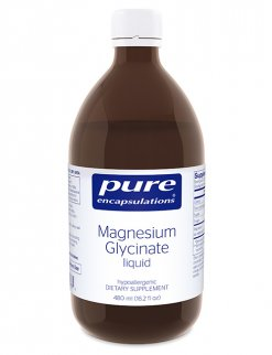 Magnesium Glycinate liquid by Pure Encapsulations