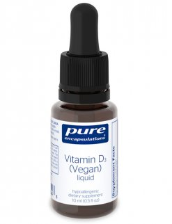 Vitamin D3 (Vegan) liquid by Pure Encapsulations