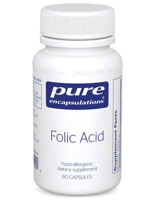 Folic Acid by Pure Encapsulations