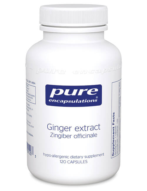 Ginger extract by Pure Encapsulations