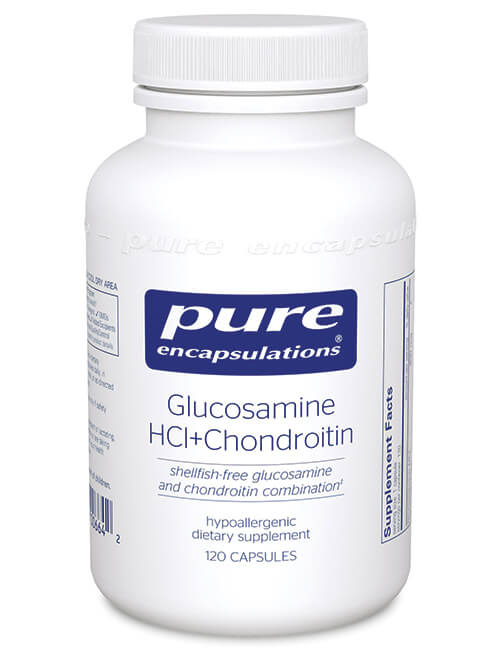 Glucosamine HCl + Chondroitin by Pure Encapsulations