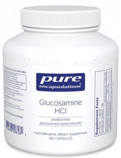 Glucosamine HCl (shellfish free) by Pure Encapsulations
