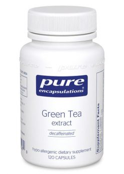 Green Tea extract (decaffeinated) by Pure Encapsulations