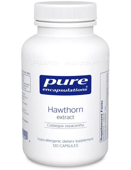 Hawthorn extract (Crataegus oxyacantha) by Pure Encapsulations