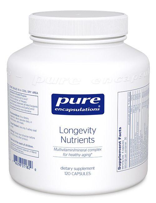 Longevity Nutrients by Pure Encapsulations