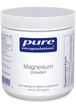 Magnesium (powder) by Pure Encapsulations