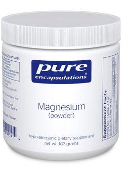 Magnesium (powder) by Pure Encapsulations