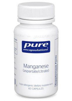 Manganese (aspartate/citrate) by Pure Encapsulations