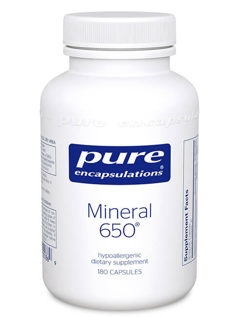 Mineral 650® by Pure Encapsulations
