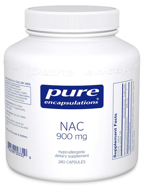 NAC (N-Acetyl Cysteine) by Pure Encapsulations
