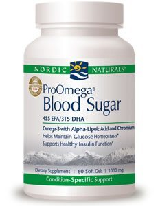 ProOmega Blood Sugar by Nordic Naturals Pro