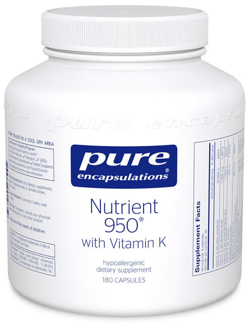 Nutrient 950 with Vitamin K by Pure Encapsulations