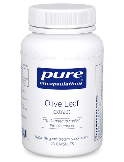 Olive Leaf extract by Pure Encapsulations