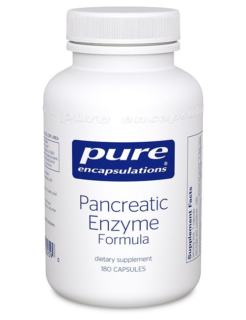Pancreatic Enzyme Formula by Pure Encapsulations