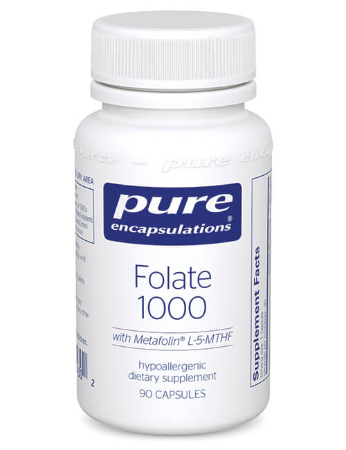 Folate 1000 by Pure Encapsulations