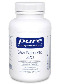 Saw Palmetto 320 by Pure Encapsulations