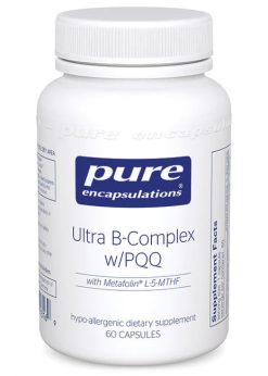 Ultra B-Complex w/PQQ by Pure Encapsulations