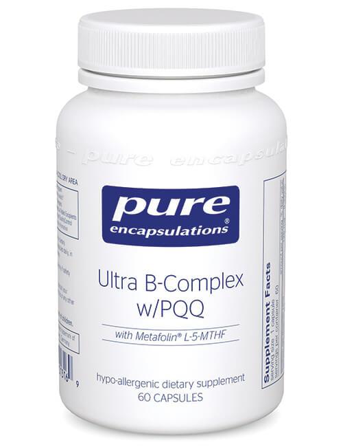 Ultra B-Complex w/PQQ by Pure Encapsulations