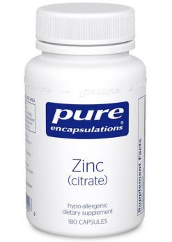 Zinc (citrate) by Pure Encapsulations