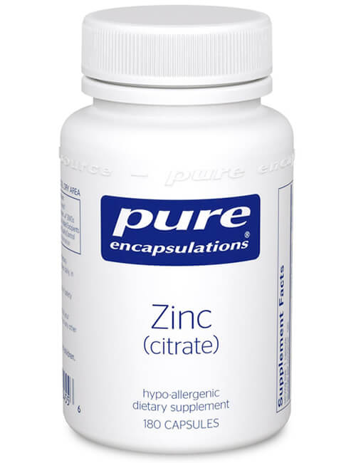 Zinc (citrate) by Pure Encapsulations