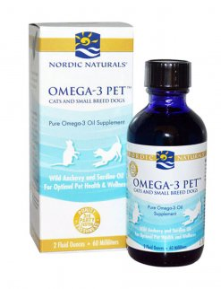 Omega-3 Pet Cats and Small Breeds
