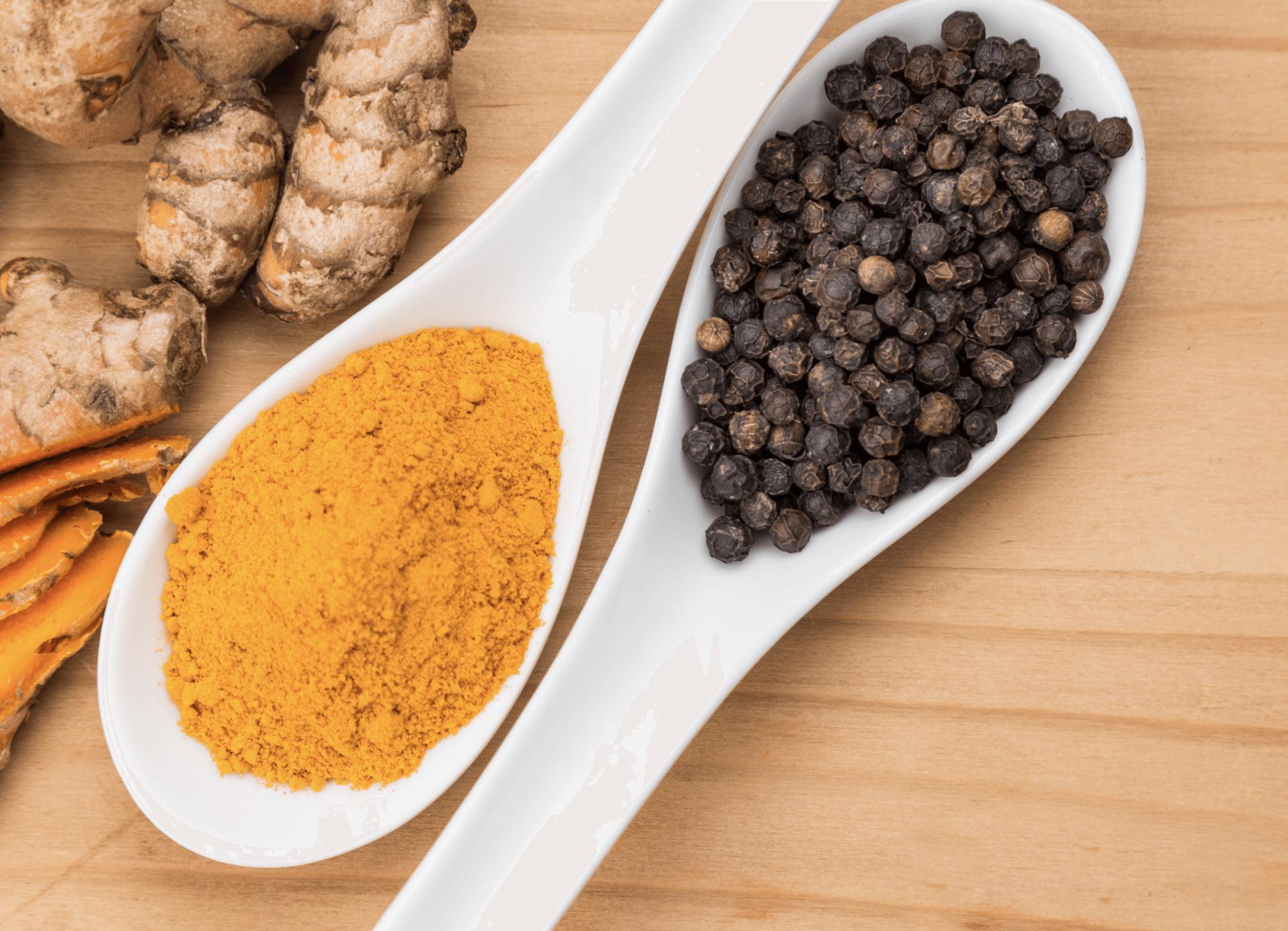 Curcumin & Black Pepper