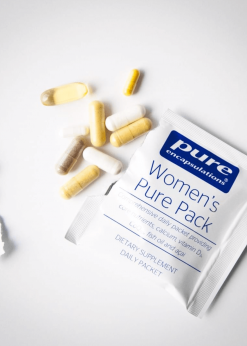 Womens Purepack vitamins
